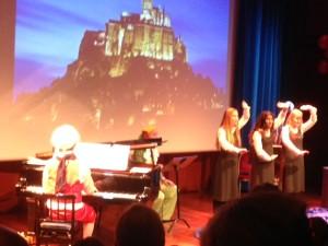 Dyktige jenter fra Operaen i Tryllefløyten