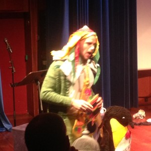 Fredrik Otterstad som Papageno i Tryllefløyten