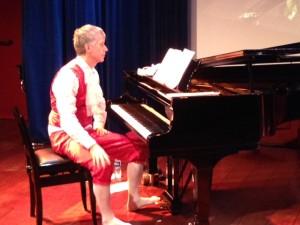 Haldor Mæland (Mozart) på prøven til Tryllefløyten