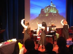 Ingrid Dissen, Nina Baretto og Ellen Andenæs Sekulic fra Operaen